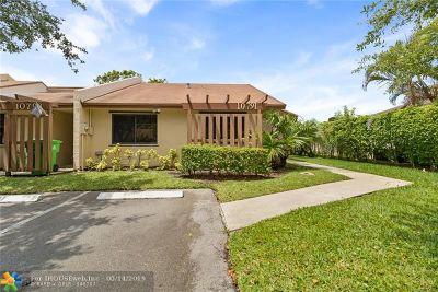 Sunrise FL Condo/Townhouse For Sale: $199,500