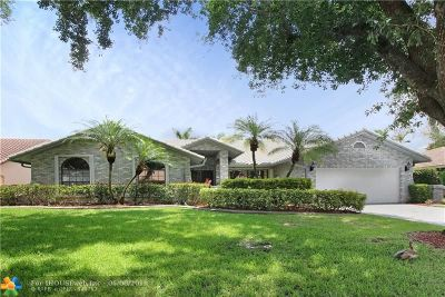 Coral Springs Single Family Home For Sale: 5199 NW 81st Ter