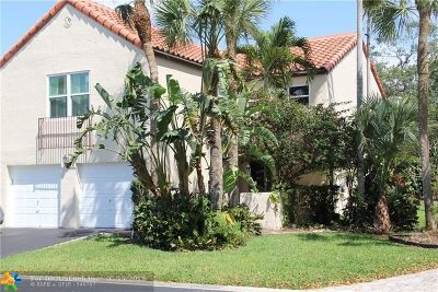 Coral Springs Single Family Home For Sale: 2025 Maplewood Dr