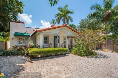 Fort Lauderdale Single Family Home For Sale: 617 SE 12 Terrace