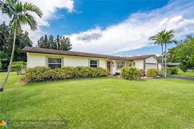 Southwest Ranches Single Family Home Backup Contract-Call LA: 5161 SW 188th Ave