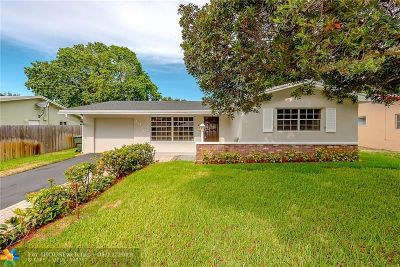Fort Lauderdale Single Family Home For Sale: 4930 SW 29th Ter