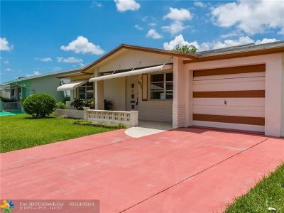 Tamarac Single Family Home For Sale: 4908 NW 55th Ct