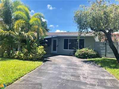 Wilton Manors Single Family Home For Sale: 1929 NW 3rd Ave