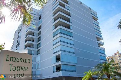 Pompano Beach Condo/Townhouse For Sale: 1401 S Ocean Blvd #506