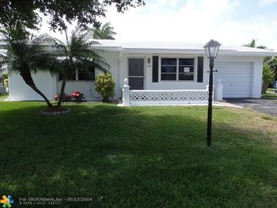 Pompano Beach Single Family Home For Sale: 2591 NW 2nd Dr