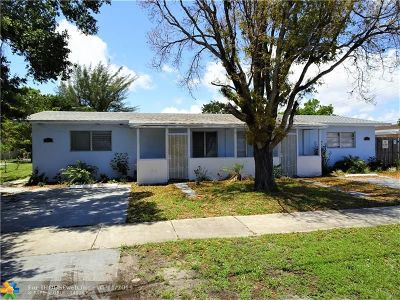 Pompano Beach Single Family Home For Sale: 351-353 NE 4th Ave