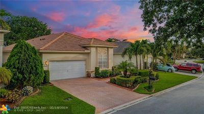 Coral Springs Single Family Home For Sale: 12124 NW 15th Ct