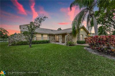 Boca Raton Single Family Home For Sale: 21621 Reflection Ln