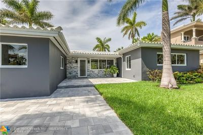 Fort Lauderdale Single Family Home For Sale: 1775 NE 21st St
