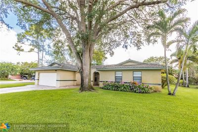 Coral Springs Single Family Home For Sale: 1013 NW 82nd Ter