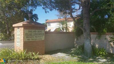Wilton Manors Condo/Townhouse For Sale: 659 W Oakland Park Blvd #118-C
