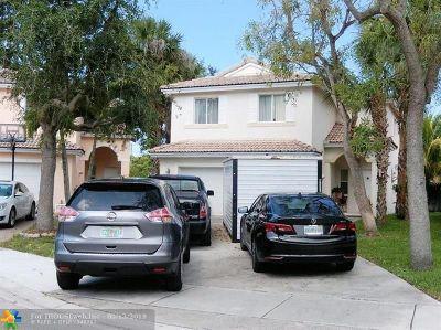 Coconut Creek Single Family Home For Sale: 6372 NW 36th Ave