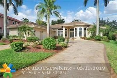 Coral Springs Single Family Home For Sale: 1868 NW 124th Way