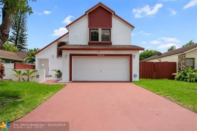 Cooper City Single Family Home For Sale: 9802 SW 57th St