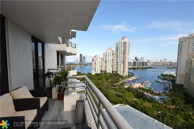 Aventura Condo/Townhouse For Sale: 3300 NE 191st St #1914