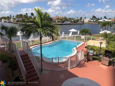 Pompano Beach Condo/Townhouse For Sale: 605 N Riverside Dr #10