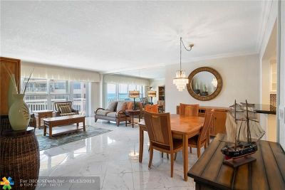 Fort Lauderdale FL Condo/Townhouse For Sale: $369,000
