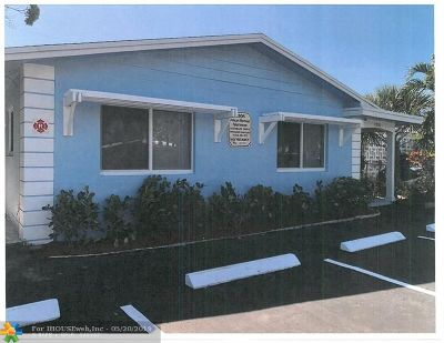 Lauderdale By The Sea Multi Family Home For Sale: 4308 Seagrape Dr