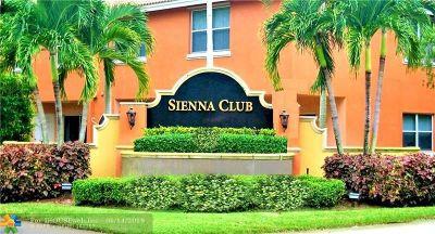 Lauderhill Condo/Townhouse Backup Contract-Call LA: 6758 Sienna Club Dr #6758