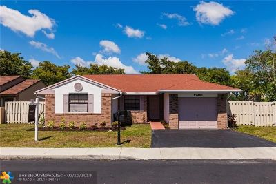 Davie FL Single Family Home For Sale: $362,500