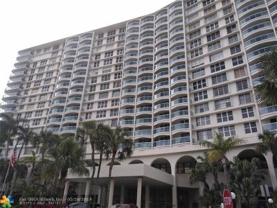 Hollywood Condo/Townhouse For Sale: 3800 S Ocean Dr #1620