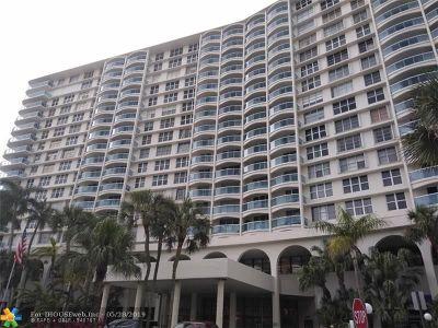 Hollywood Beach Condo/Townhouse For Sale: 3800 S Ocean Dr #1620