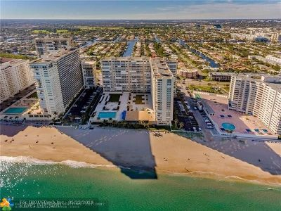 Fort Lauderdale Condo/Townhouse For Sale: 4300 N Ocean Blvd #17F