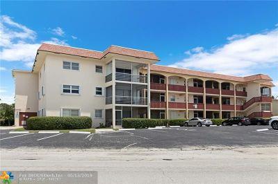 Pompano Beach Condo/Townhouse For Sale: 651 Pine Dr #109