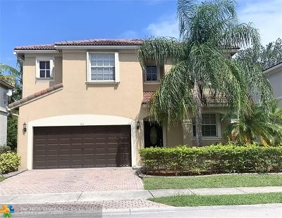 Coral Springs Single Family Home For Sale: 901 NW 126 Ave