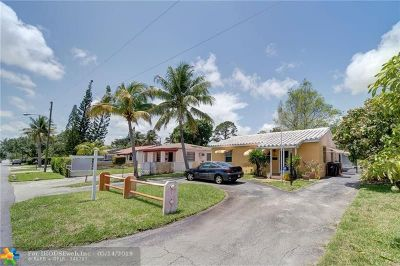 Fort Lauderdale Single Family Home Backup Contract-Call LA: 1433 NW 1st Ave