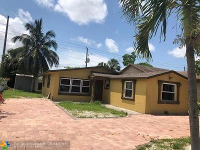 Fort Lauderdale Single Family Home Backup Contract-Call LA: 2910 NW 6th Ct