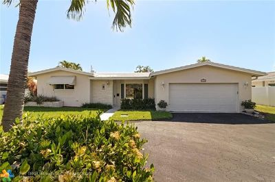 Fort Lauderdale Single Family Home For Sale: 4730 NE 28th Ave