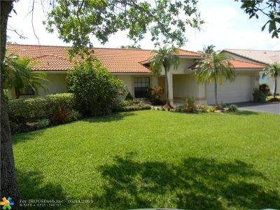 Coral Springs Rental For Rent: 5066 NW 96th Dr