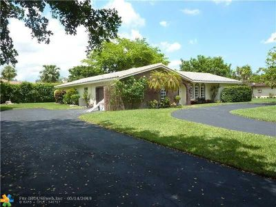 Coral Springs Single Family Home For Sale: 11161 NW 23rd Ct
