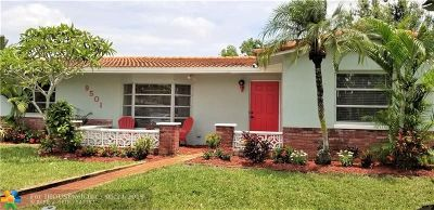 Pembroke Pines Single Family Home For Sale: 9501 NW 24th Pl