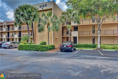 Margate Condo/Townhouse For Sale: 6105 Coral Lake Dr #105