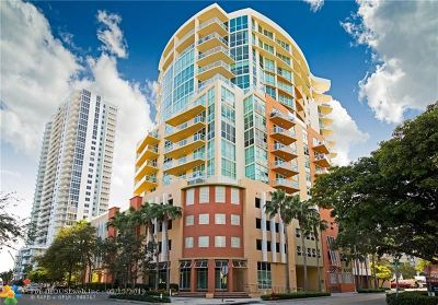 Fort Lauderdale Condo/Townhouse For Sale: 111 SE 8th Ave #806