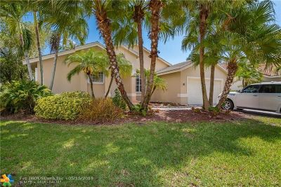 Weston Single Family Home For Sale: 1541 Lantana Dr