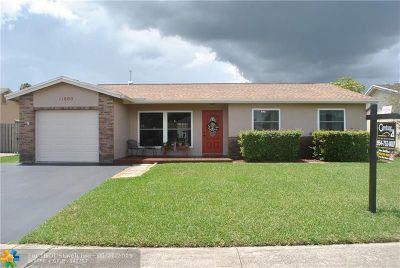 Sunrise FL Single Family Home For Sale: $324,900