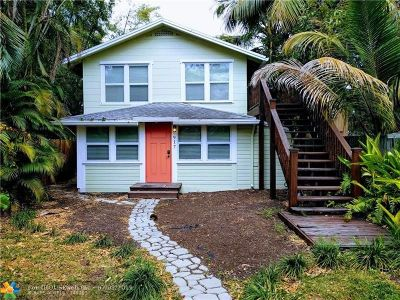 Fort Lauderdale Single Family Home For Sale: 917 Middle St
