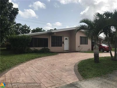 Fort Lauderdale Single Family Home For Sale: 3160 SW 20th St