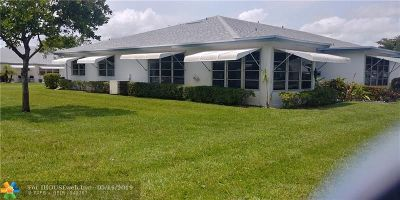 Delray Beach Single Family Home For Sale: 1180 South Circle Drive