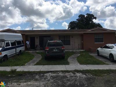 North Miami Multi Family Home For Sale: 14425 NE 5th Ave