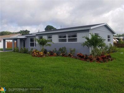 Boca Raton Single Family Home Backup Contract-Call LA: 499 NE 45th St