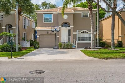 Coral Springs Single Family Home For Sale: 184 NW 118th Dr
