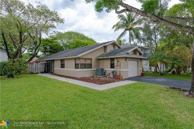 Sunrise FL Single Family Home For Sale: $350,000