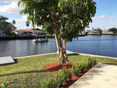 Fort Lauderdale Condo/Townhouse For Sale: 1839 Middle River Dr #1