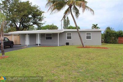 Pompano Beach Single Family Home For Sale: 4400 NE 14th Ave