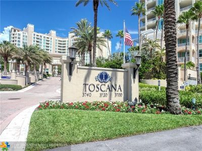 Highland Beach Condo/Townhouse For Sale: 3700 S Ocean Blvd #209